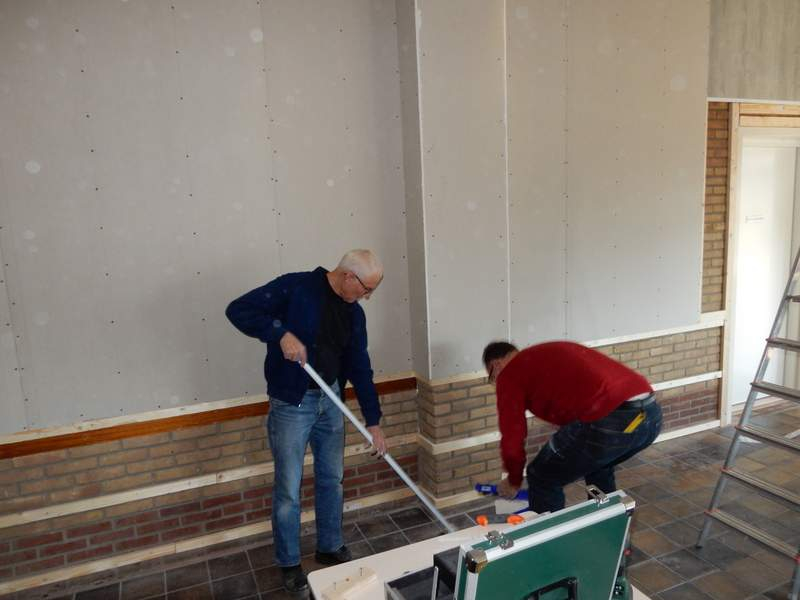 Renovatie kantine