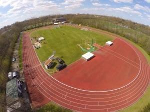 Luchtfoto Atletiekbaan