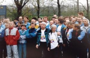 Deelnemers Rotterdam Marathon